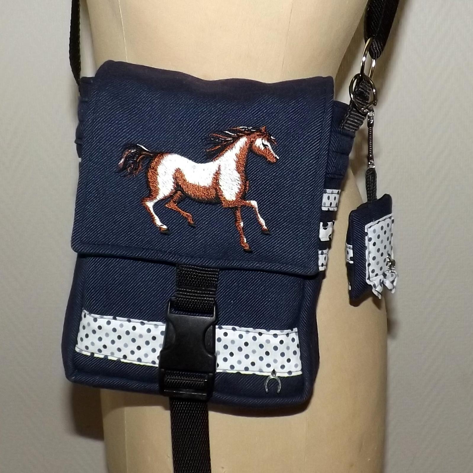 Sacoche thème cheval