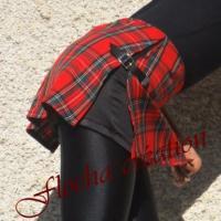 Short Sixquo grand écossais rouge