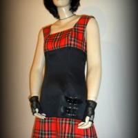 Robe Tookilt écossais rouge
