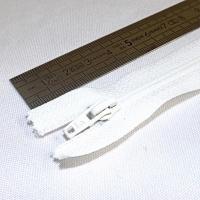 Fermeture à glissière fine 15 cm écru