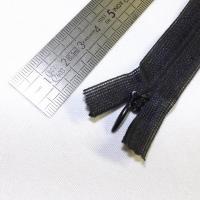 Fermeture à glissière invisible 12 cm noir